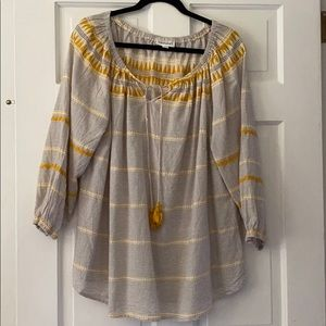 Peasant style shirt in 2xl